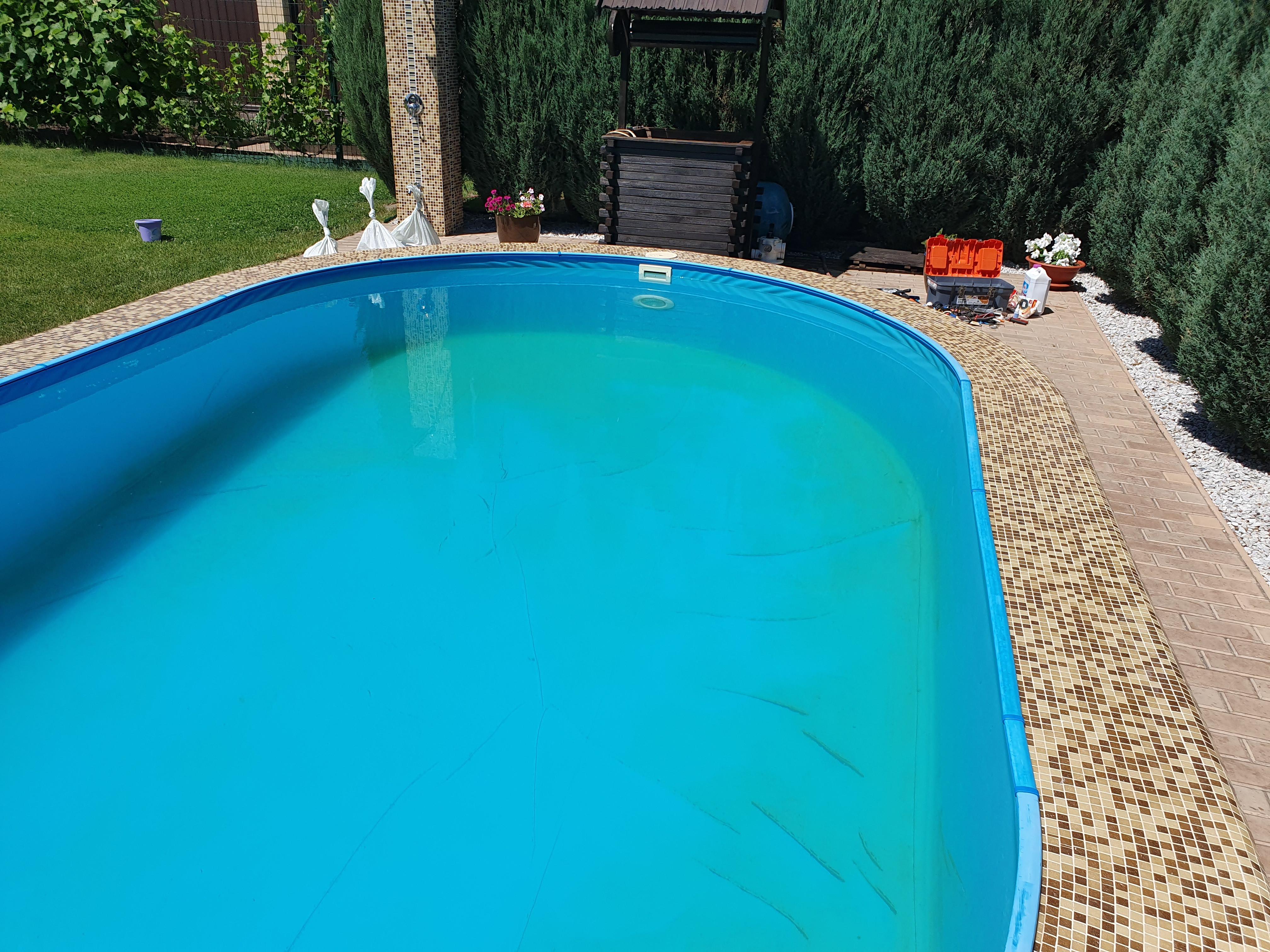 Срочная замена песка в бассейне