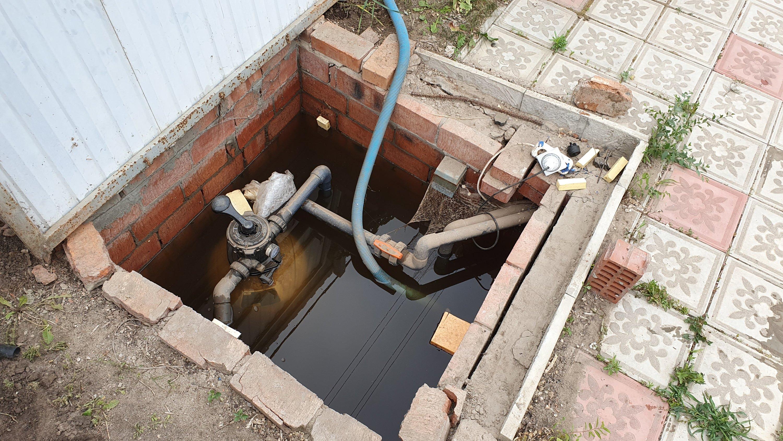 Затопило фильтрацию бассейна
